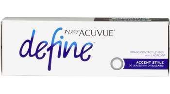 1 Day Acuvue Define Accent Style 30 lens pack