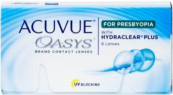 Acuvue Oasys week for Presbyopia 6 lens pack