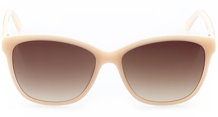 lausanne: women's butterfly sunglasses in pink - front view