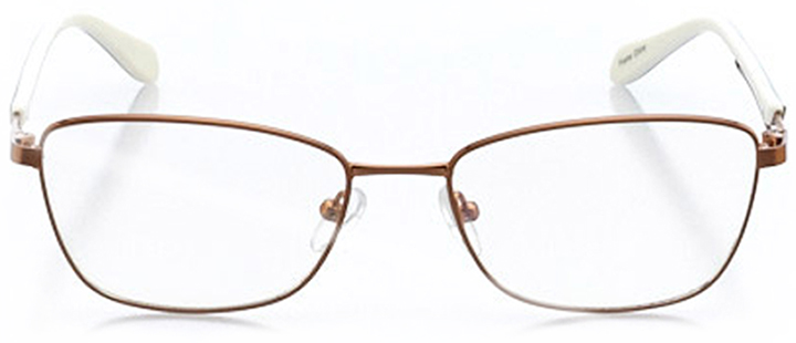 saint-denis: women's cat eye eyeglasses in blue - front view