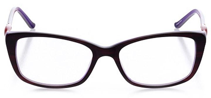 aix-en-provence: women's cat eye eyeglasses in purple - front view
