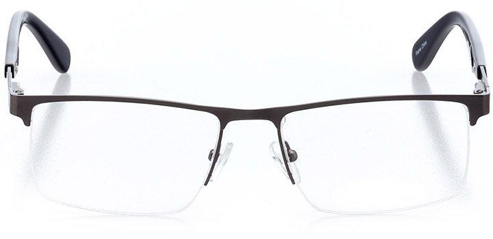 islamorada: men's square eyeglasses in blue - front view