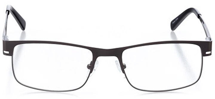 jupiter: men's rectangle eyeglasses in gray - front view