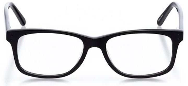 jensen beach: men's square eyeglasses in blue - front view