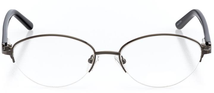 fort-de-france: women's cat eye eyeglasses in gray - front view