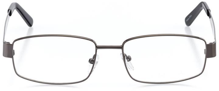 killington: men's rectangle eyeglasses in gray - front view