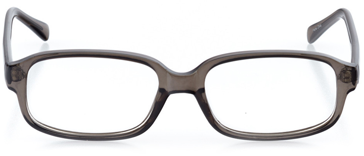 london: men's rectangle eyeglasses in gray - front view