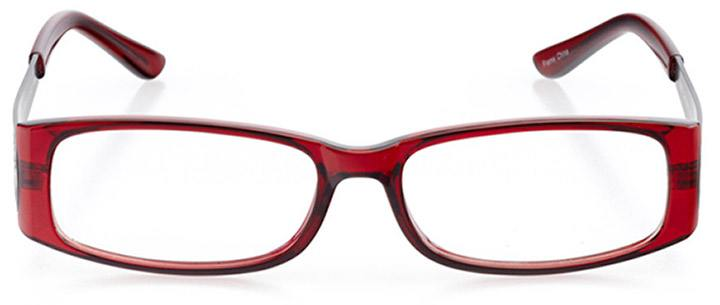 surrey: women's rectangle eyeglasses in purple - front view