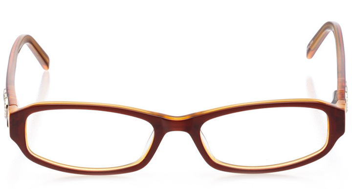 cocoa beach: women's rectangle eyeglasses in purple - front view