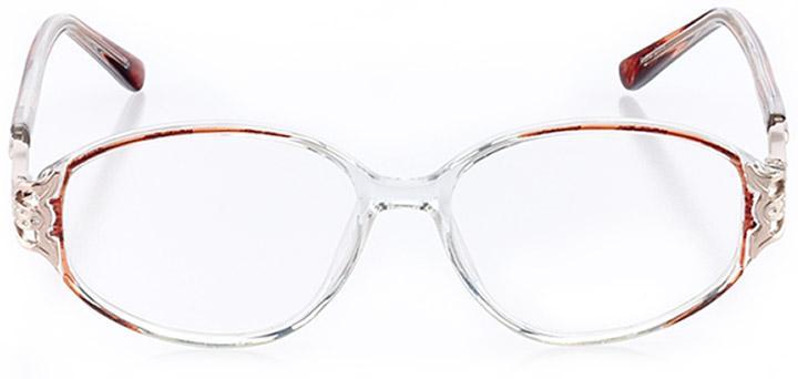 sun valley: women's oval eyeglasses in pink - front view