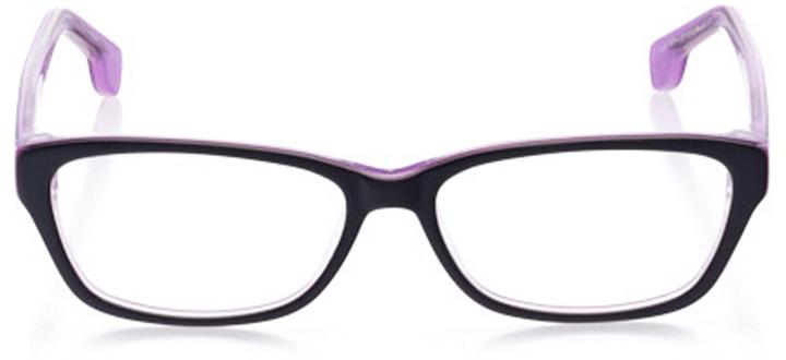 westerly: women's cat eye eyeglasses in purple - front view