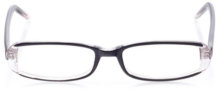 lafayette: women's rectangle eyeglasses in purple - front view