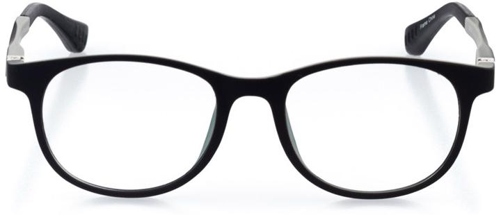 berkeley: round eyeglasses in gray - front view