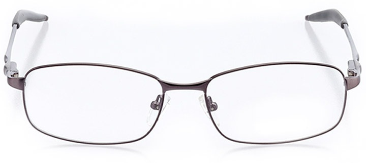 san gregorio: men's rectangle eyeglasses in gray - front view