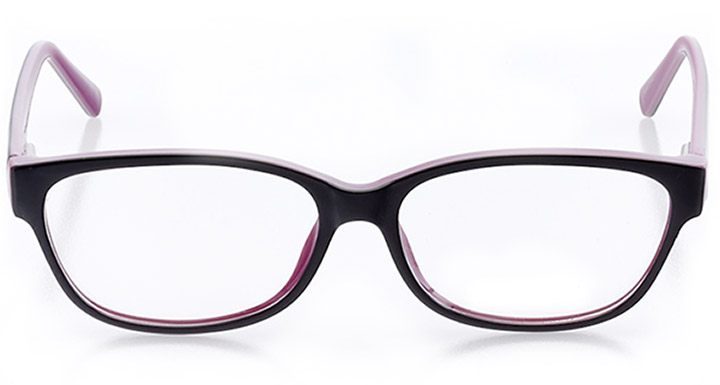 malibu: women's cat eye eyeglasses in purple - front view