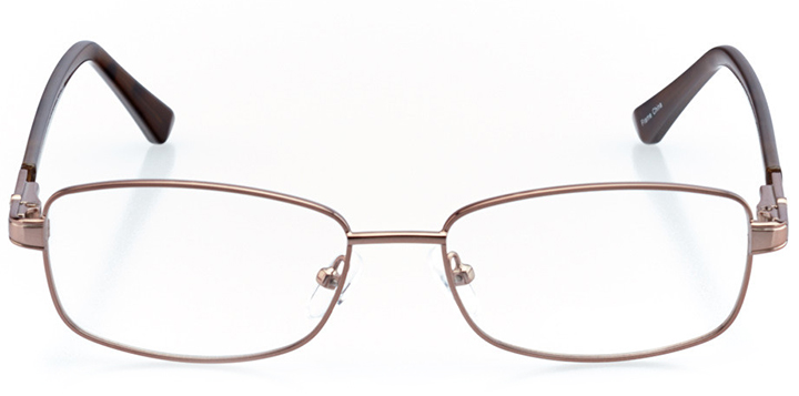 sioux falls: women's rectangle eyeglasses in tortoise - front view