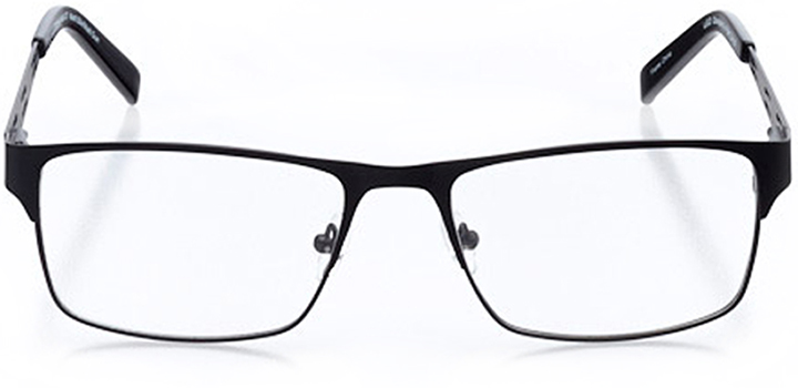 anchorage: men's square eyeglasses in gray - front view