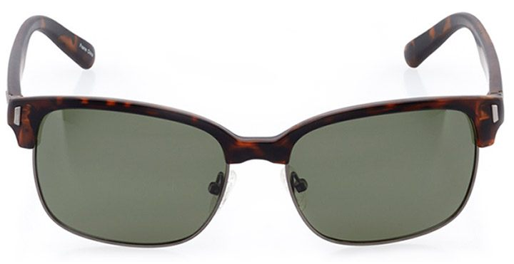 faro: women's cat eye sunglasses in gray - front view