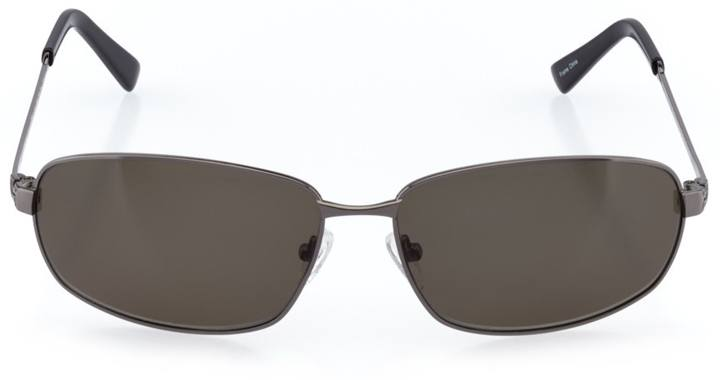 varanisi: men's rectangle sunglasses in gray - front view