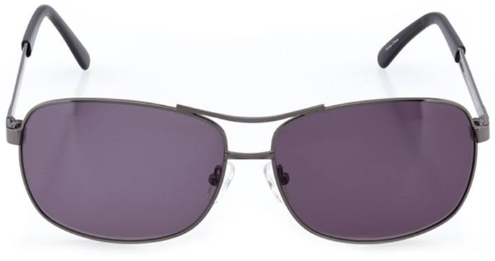 winchester: men's rectangle sunglasses in gray - front view