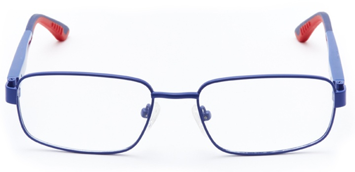 thwip!: boys's rectangle eyeglasses in blue - front view